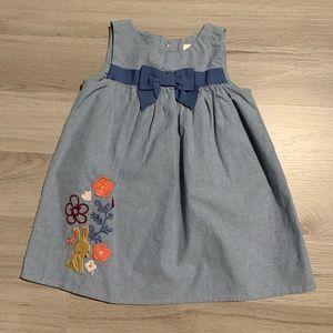 Gymboree chambray dress